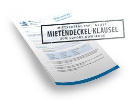 """Das gesetz sei """"insgesamt nichtig. Mietvertrag Mit Mietendeckel Klausel Service Hev Berlin Hauseigentumer Vermieterverein E V"""