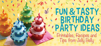 Birthday Party Ideas Printables Recipes