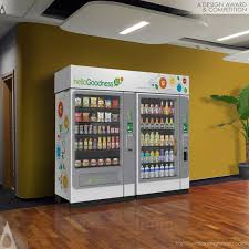 Hello Goodness Vending Machine Extraordinary A' Design Award And Competition Hello Goodness Vending MacHine