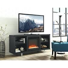 glass fireplace tv stand white stand with electric fireplace glass ember fireplace stand electric fireplace media