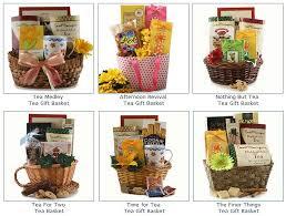 tea gift baskets here