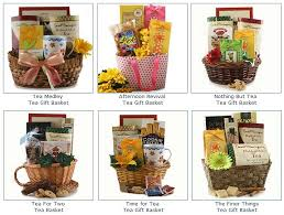 tea gift baskets here