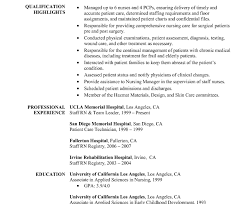 Nursing Resume Templates Free Sample Of Registered Nurse Resume Template Free Critical Examples Rn ...