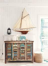 coastal beach furniture. Rustic Furniture And Decor Nautical Vignette With Beach A Rustic, Weatehred Side Console Coastal L