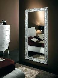 mirrors for bedroom wall long pertaining to design 13