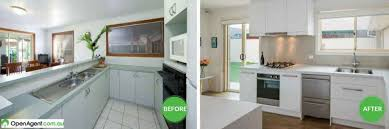 kitchen before and after renovation australia before and after kitchen renovation australia
