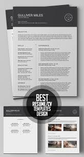Modern Minimal Resume Template Free 50 Best Minimal Resume Templates Design Graphic Design