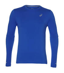 <b>Лонгслив</b> Asics <b>Seamless LS</b> 2011A285-402, blue, XL INT купить ...