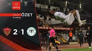 2020-2021 Atakaş Hatayspor 2-1 İttifak Holding Konyaspor maç özeti  tr.beinsports.com