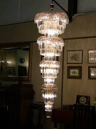 layered lighting. Art Deco Style Multi Layered Swarofski Crystal Chandelier Extra Large Lighting