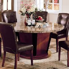 bologna 60 inch round dining table acme furniture cart within inspirations 3