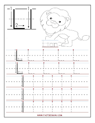Printable Letter L Tracing Worksheets For Preschool Education