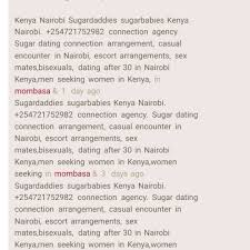 "Sugardating Kenya on Instagram: ""Sugardaddies sugarbabies Kenya Nairobi.  +254721752982 connection agency. … 