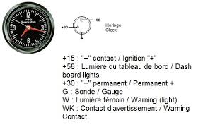 thesamba com gallery vdo clock gauge wiring diagrams vdo clock gauge wiring diagrams