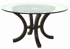 round glass table tops elegant le glass dining table top house