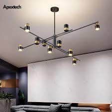 living room dining room hanging lights