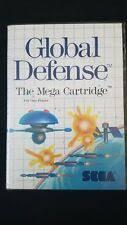 Global Defense Global Defense Sega Master 1987 Ebay
