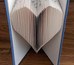 Book Folding Patterns Beauteous Book Folding Pattern HEART Craftsy