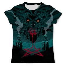 <b>Printio</b> Werewolf <b>Design</b>, Женская Одежда Казань