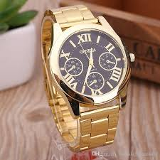 2016 brand new stainless steel geneva watch men gold watches 2016 brand new stainless steel geneva watch men gold watches watched luxury men business quartz watch