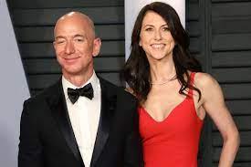 Jeff Bezos' Ex-Frau verwechselt ...