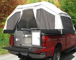 Canvas Pick Up Tent | Very cool tent camper for a truck ...