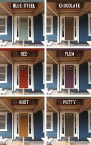 front door paint ideas 2Best 25 Blue houses ideas on Pinterest  Blue house exterior