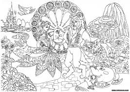 Small Picture Beauty and the Beast Fairy and Adult coloring