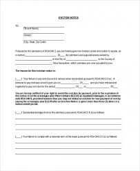 Eviction Notices Template Mesmerizing Download Our Sample Of Free Eviction Notice 48 Day Eviction Notice