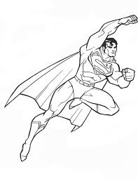Small Picture Printable Superman Coloring Pages Coloring Me