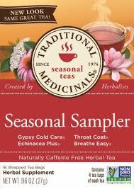 Traditional Medicinals Seasonal Sampler Tea Bags, 16 ct - Kroger