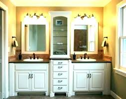 Image Lowes Diegojones Modern Vanity Bathroom Alluring Bathrooms Double Sink Small