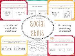 Social Skills Social Language Powerpoint