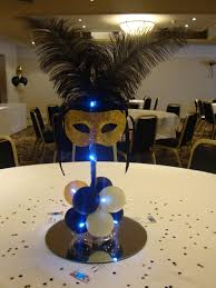 Table Decorations For Masquerade Ball JOA Masquerade Prom Masquerade prom Masquerades and Prom 8