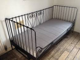 daybed ikea. Plain Daybed Ikea Meldal Black Metal Daybed With Sultan Mattress Intended T