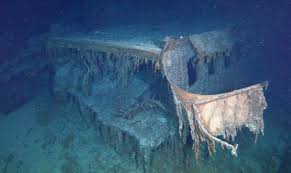 real underwater titanic pictures. Wonderful Underwater The Expedition Of A Lifetime Us60000 To See Real Titanic Inside Underwater Pictures