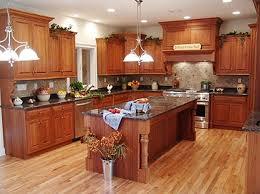 Western Style Kitchen Cabinets Modern Black Round Base Bar Stools Rustic Kitchen False Exposed