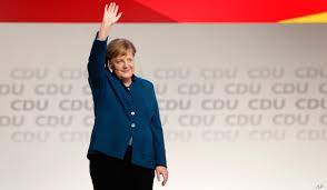 German Chancellor Stepping Down as CDU ...