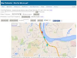 popular  list google map pedometer