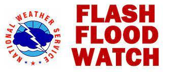 Flash Flood Watch in Effect