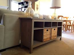 sofa table with storage. Wonderful Ikea Sofa Table Hemnes Brown Drawers Lamp Bowl With Storage