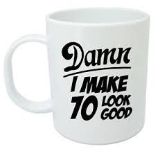 image is loading 70 mug 70th birthday gifts presents gift