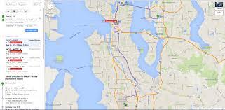 sound transit not showing on google maps  seattle