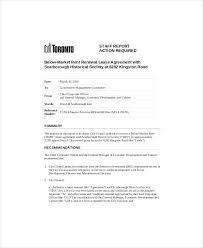 Lease Renewal Letter Market Rent Renewal Lease Agreement Not