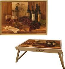 "Столик с раскладными ножками <b>Gift'n'Home</b> ""<b>Винтажные вина</b> ..."