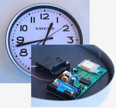 geoff s projects gps synchronised clock this project replaces the electronics in a standard quartz wall clock a circuit that uses gps satellites to get the precise time