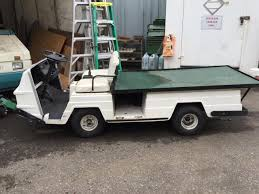 flatbed utility cart.  Utility EZGO Flatbed Utility Cart Gasolinepowered Throughout Cart R
