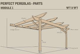 perfect pergolas pergola assembly