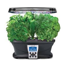 miracle gro aerogarden ultra led indoor garden with gourmet herb seed kit