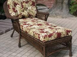 Outdoor Wicker Furniture Long Seat Cushion Wicker Patio Furniture